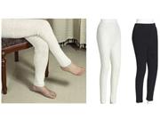 35 Degree Sport Leg Warmers- Ivory (ivory)
