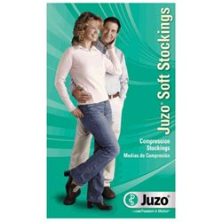 Juzo 2001ATOCSH10 I Soft, Pantyhose, Open Toe, Short, Open Crotch - Black