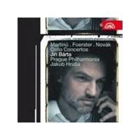 Foerster; Martinu; Novak: Cello Concertos (Music CD)