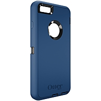 Otterbox Defender Carrying Case (holster) For Iphone 6 Plus - Ink Blue - Drop Resistant Interior, Bump Resistant Interior, Shock Resistant Interior, Scratch Resistant Screen Protector, Dust Resistant Port, Debris Resistant Port - Belt Clip 77-50314