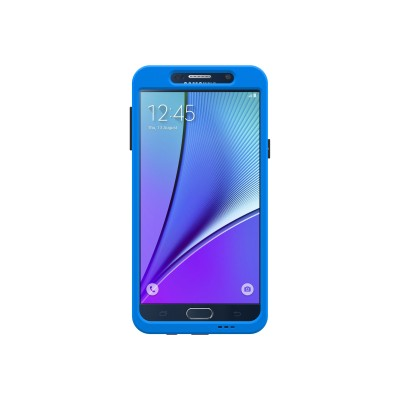 Trident Case Cy-ssgxn5-bl000 Trident Aegis Pro Series - Back Cover For Cell Phone - Rugged - Tpe  Hardened Bio-enchanced Polycarbonate - Blue - For Samsung Gala