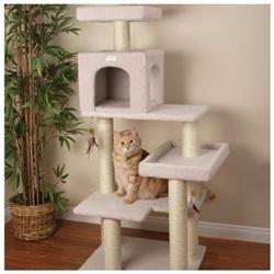Petco Premium Tree Bungalow for Cats, 19.7 L X 28 W X 55 H