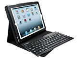 Kensington K39512US KeyFolio Pro 2 Case for iPad 2nd, 3rd, 4th Gen with Wireless Keyboard and Stand - Black