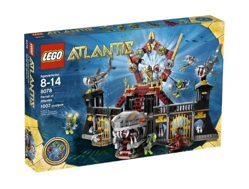 LEGO Portal of Atlantis 8078