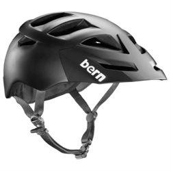 Bern 2014 Men's Morrison Zipmold Summer Bike Helmet w/Visor (Matte Black w/ Black Hard Visor - XXL/XXXL)
