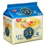 Nissin - Raoh, Japanese Instant Ramen Noodles, Salty Taste, 16.9oz (for 5 Servings)[Japan Import]