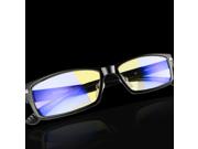Corn Optiks Yj-2 Full Rim Advanced Video Gaming Eyewear Glasses With Headset Compatibility And Amber Lens Tint, Flexible Beta Memory Polymer (black)