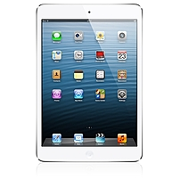 """Apple Ipad Mini Md533ll/a Tablet - 7.9"""" - Apple A5 Dual-core (2 Core) - 64 Gb - Ios 6 - 1024 X 768 - In-plane Switching (ips) Technology - White, Silver - 4:3 Aspect Ratio - Wireless Lan - Bluetooth - Front Camera/webcam - 5 Megapixel Rear Camera"""