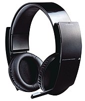 Experience the ultimate audio advantage with the official PS3 Wireless Stereo Headset