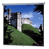 Da-Lite Model B With CSR Manual Wall and Ceiling Projection Screen