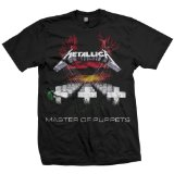 Bravado Men's Metallica-Master Of Puppets T-Shirt,Black,Medium