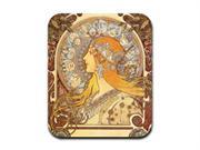 Zodiac - Alphonse Mucha Art Nouveau Mousepad Mouse Pad