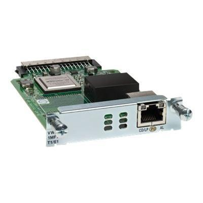 Cisco Vwic3-1mft-t1/e1 Third-generation Multiflex Trunk Voice/wan Interface Card - Expansion Module - Ehwic - T-1/e-1 - For  1921  1921 4-pair  1921 Adsl2   192