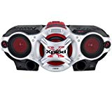 Sony CFDG700CP Xplod Portable CD Radio Cassette Recorder Boombox Speaker System (Discontinued by Manufacturer)