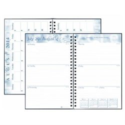 House of Doolittle Academic Weekly Planner, Student Assignment Book 13 Months August 2014 to August 2015, 5 x 8 Inches, Circle Design Recycled Materials Made in the USA (HOD274RTG59-15) By House of Doolittle