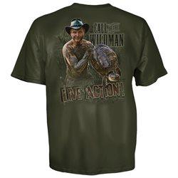 Call Of The Wildman Turtleman Live Action Thunder T-Shirt-xxl