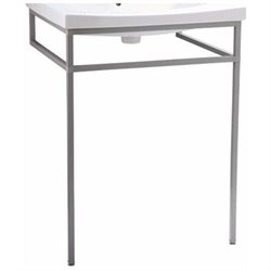 Persuade Console Table for Bathroom Sink in Shale