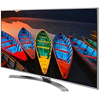 B Super UHD  b   p Super UHD is LG's best 4K LED TV, a Smart TV offering a superior viewing experience through advanced technologies delivering over a billion rich colors, smoother motion and elevated brightness plus HDR with Dolby Vision