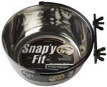 Midwest Mw42 Snap'y Fit Water And Feed Bowl - 2qt.