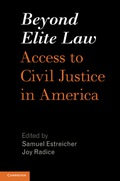 This book provides the most systematic account to date of the access to justice crisis in civil courtrooms for low- and middle-income Americans