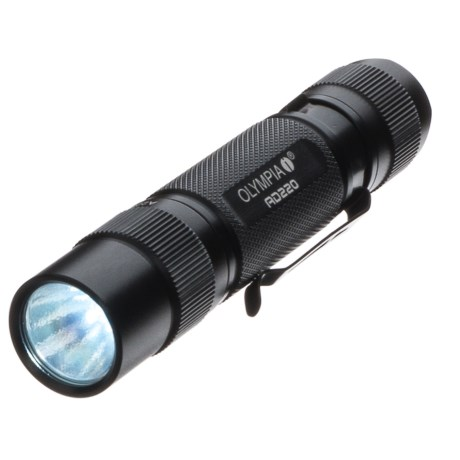 Ad220 Outdoor Flashlight - 220 Lumens, Waterproof