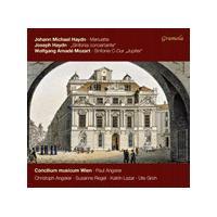 Johann Michael Haydn: Menuette; Joseph Haydn: Sinfonia concertante; Mozart: Symphonie