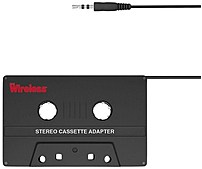Just Wireless 705954040736 20051 Cassette To Ipod Adapter Kit - Black