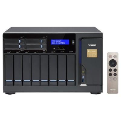 Qnap Tvs-1282t-i5-16g-us 12 Bay Thunderbolt 2 Das/nas/iscsi Ip-san Solution  Intel Core I5 3.6ghz Quad Core