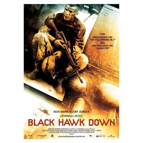 Black Hawk Down Poster Movie German 11 x 17 In - 28cm x 44cm Josh Hartnett Eric Bana Ewan McGregor Tom Sizemore William Fichtner Sam Shepard