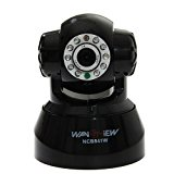 Wansview Wireless IP Pan/Tilt/ Night Vision Internet Surveillance Camera Built-in Microphone With Phone remote monitoring support(Black)