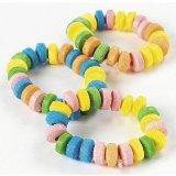 Stretchable Candy Jewelry Bracelets (48 pcs)