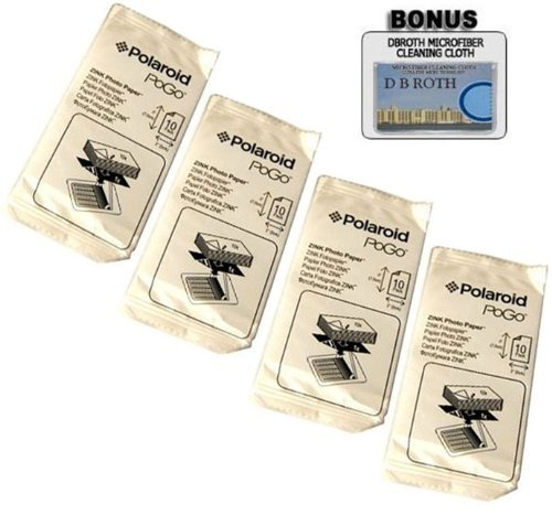 2x3 Inch ZINK Photo Paper for Pogo Cameras and Printers (Pack of 40!)