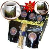 cgb_64302_1 Jos Fauxtographee Realistic - A picnic table with trees in the distance on a slab of cement - Coffee Gift Baskets - Coffee Gift Basket