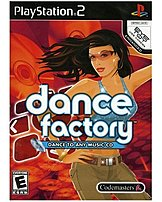 The Codemasters 767649401161 Dance Factory comes with three dance difficulties such as easy, normal, and pro flavors, and the object is to hit the arrows on the dance mat at the correct time