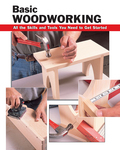A fully illustrated introduction to hand and machine toolsDetailed, step-by-step guidance on essential woodworking techniquesInstructions for several complete projects plus it covers finishing, staining, and paintingThe history of woodworking spans cultures and millennia, and each year more and more people take up this exciting and challenging craft