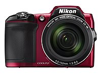 Nikon 26486 Coolpix L840 16 Megapixel Bridge Camera - Red - 3