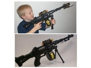 Combat Sniper Toy Gun Rifle With Rotating Bullets