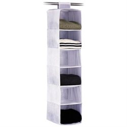 ORGANIZE IT ALL Zephyr 6 Shelf Sweater Bag