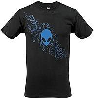 Mobileedge Aws1 Alienware Arena Gaming Gear T-shirt - Large - Black