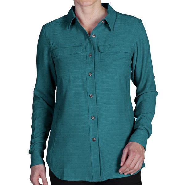ExOfficio Gill Shirt - UPF 20 , Long Sleeve (For Women)