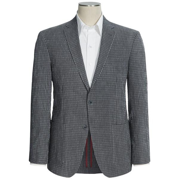 Riviera Seersucker Check Sport Coat (For Men)