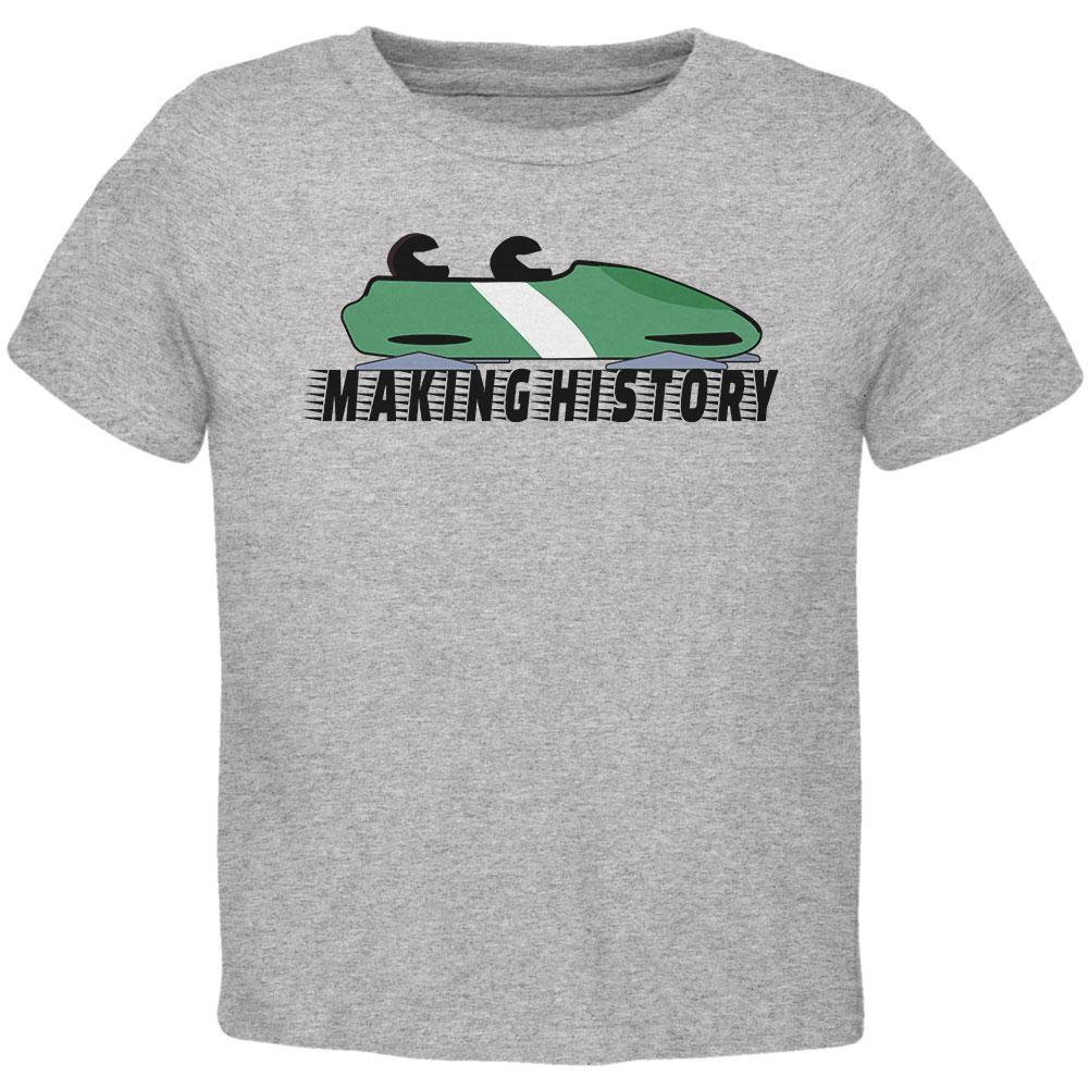 Nigerian Bobsled Team Making History Toddler T Shirt