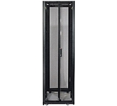 Schneider Electric Ar3307x617 Netshelter Sx 48u Rack Enclosure With Roof - No Doors Or Sides, Black