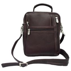 Piel Personalized Leather Radio, Video and Camera Bag
