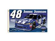 JIMMIE JOHNSON #48 2-Sided 3 Ft. X 5 Ft. Flag W/Grommets