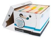 Boxa 101 Record Storage Box - Holds 1260 Letter/legal Folders Per - 6 Pack