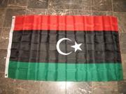 3x5 Libya 2011 National Transitional Council Flag 3'x5' Banner Brass Grommets