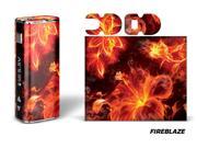 Designer Decal For Eleaf Istick 20w Vape - Fireblaze