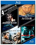 Warner Bros Home Video 883929401505 4 Film Favs: Leonardo Dicaprio - Blu-ray