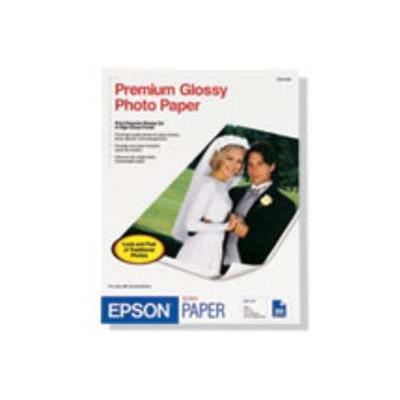 Epson S041465 Glossy Photo Paper - 8 In X 10 In 20 Sheet(s) - For Stylus Pro 38xx  Workforce 1100  610  Wf-2520  2530  2540  3540  Workforce Pro Wf-6090